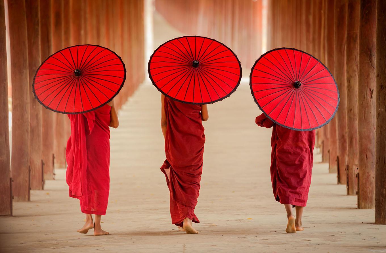 Carré Rouge - Art asiatique